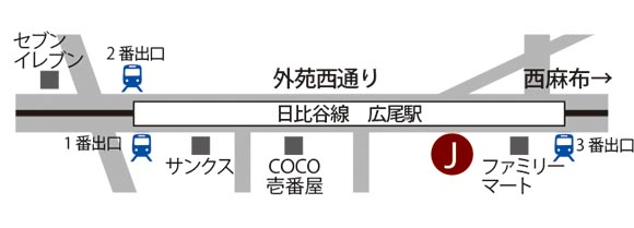 HIROO MAP